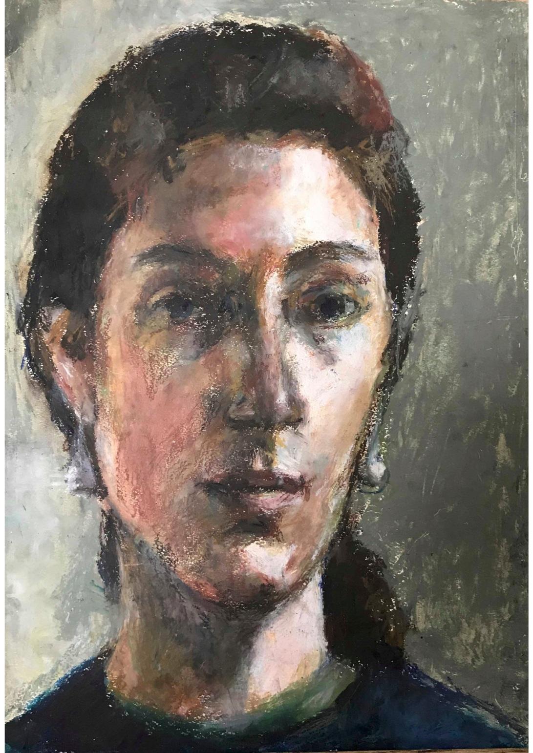 pastel portrait c